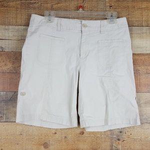 Caribbean Joe Shorts Women's Size 8 Beige T19